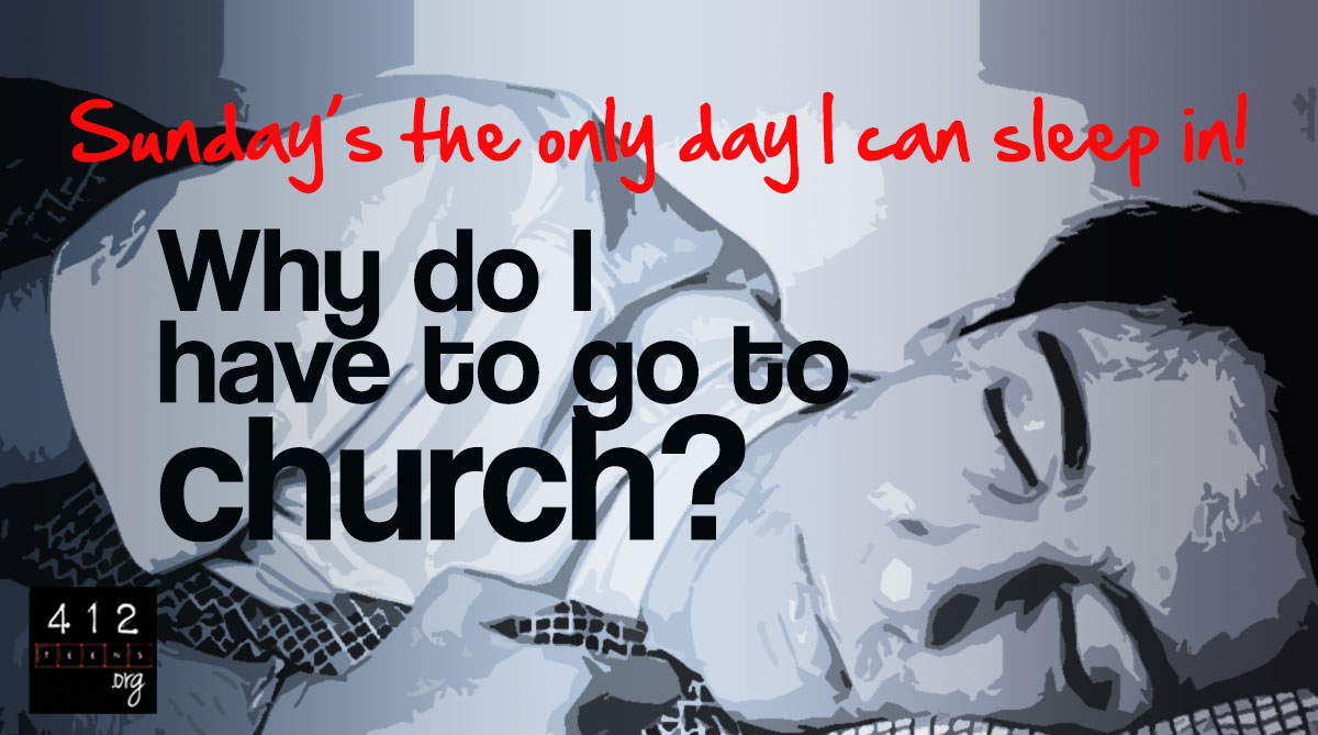Why not go to church 39
