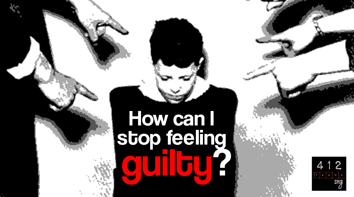 how to stop feeling guilty about something