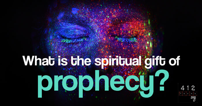We find the spiritual gift of prophecy listed as one of the gifts of the Spirit in 1 Corinthians 12:10 and Romans 12:6. As used in the Old Testament, ...