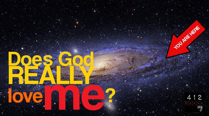How do i know god loves me