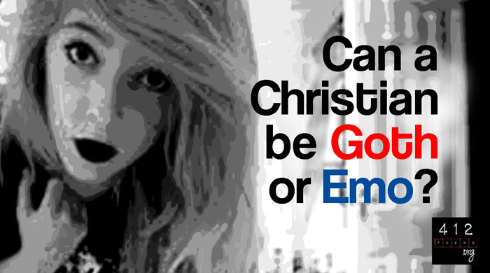 what is the christian view on goth emo