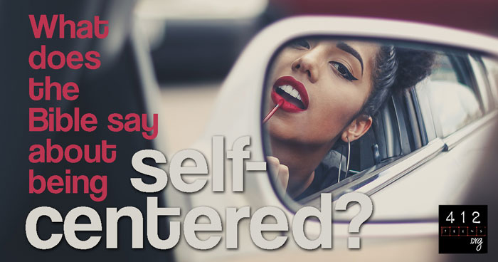 Vs self centered self absorbed 15 Signs