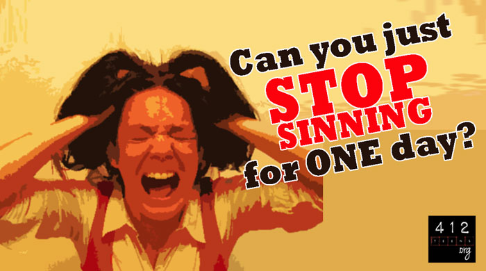 Do we sin daily? | 412teens org